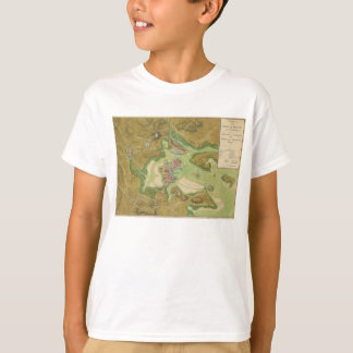 Revolutionary War Map of Boston Harbor 1776 T-Shirt
