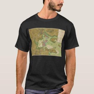 Revolutionary War Map of Boston Harbor 1776 T-Shirt