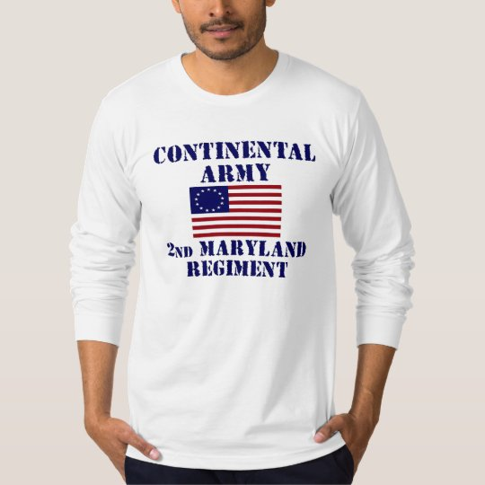 Revolutionary War Maryland Regiment Shirt