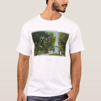 Revolutionary War Memorial, Old North Bridge T-Shirt