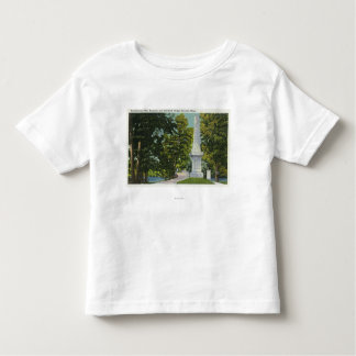 Revolutionary War Memorial, Old North Bridge Toddler T-shirt