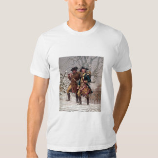 Revolutionary War Soldiers Marching Tee Shirts