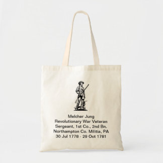 Revolutionary War Veteran Tote