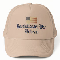 Revolutionary War Veteran Trucker Hat