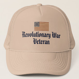 Revolutionary War Veteran Trucker Hat