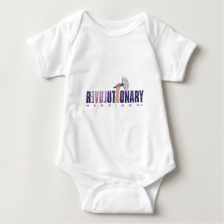 Revolutionary Weddings_final logo (updated2) Baby Bodysuit