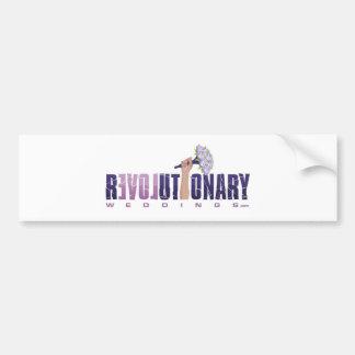 Revolutionary Weddings_final logo (updated2) Bumper Sticker