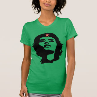 REVOLUTIONARY WOMAN (stencil) Short Sleeve T-Shirt