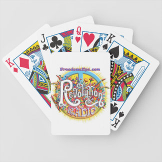 revolutionpeace bicycle playing cards