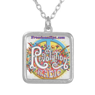 revolutionpeace colgante cuadrado