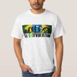 RevolutionT-camisa de la carta de la evolución de Playera