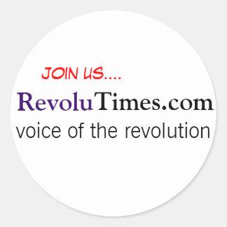 RevoluWear Pegatina Redonda