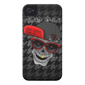 Revolve Black (Your cooler than me) iPhone 4 Cases