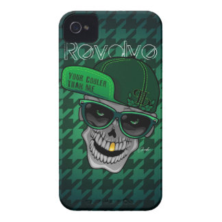 Revolve Green (Your cooler than me) iPhone 4 Cover