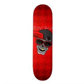 Revolve (Your cooler than me) Red Skateboard