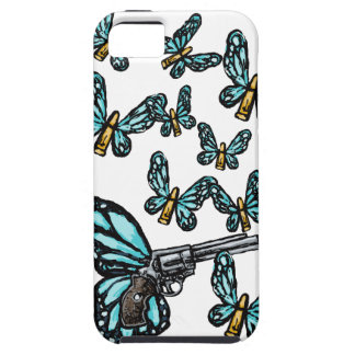 Revolver, Bullets and Butterflies Products iPhone SE/5/5s Case