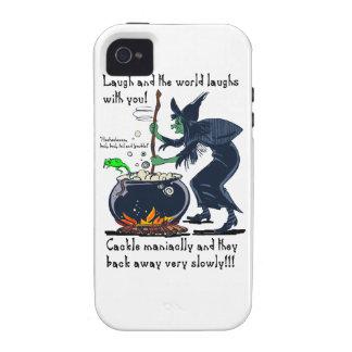 Revolvimiento de risas iPhone 4 funda