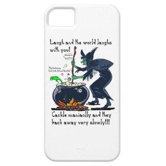 Revolvimiento de risas iPhone 5 Case-Mate cobertura