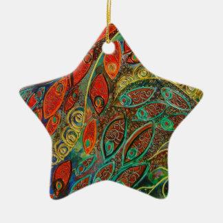 """Revolving Door"" Ceramic Ornament"