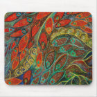 revolving door (painting) mouse pad