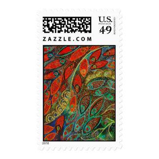 revolving door (painting) postage