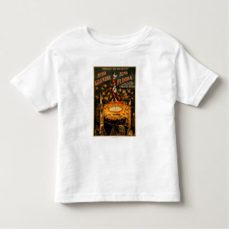 Revolving Pyrotechnic Fountain High Wire Toddler T-shirt