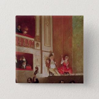 Revue at the Theatre des Varietes, c.1885 Pinback Button