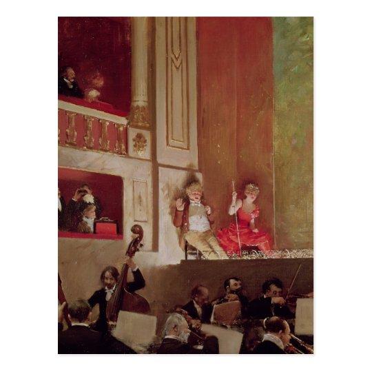 Revue at the Theatre des Varietes, c.1885 Postcard