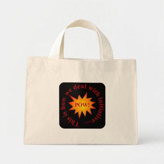 Reward for initiative (sq) canvas bag