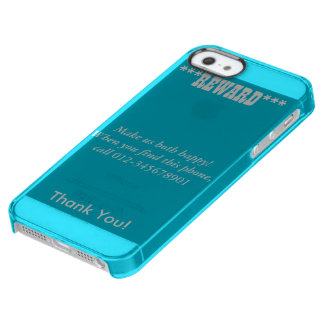 Reward, Make Us Both Happy! Call, Uncommon iPhone Clear iPhone SE/5/5s Case