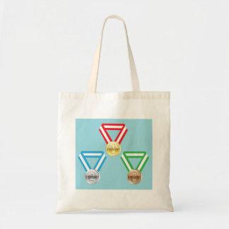 Reward Medals vector Tote Bag