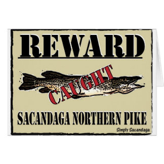 Reward Northern Pike Greeting Card