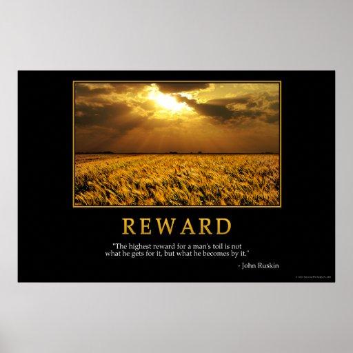 Reward Poster