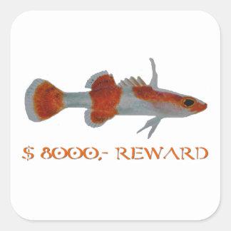 Reward Square Sticker