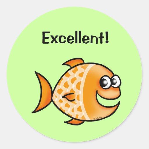 Reward sticker (Excellent!)   Zazzle