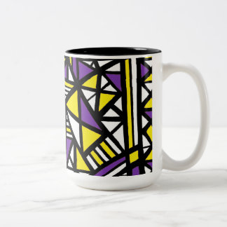 Reward Zealous Knowing Romantic Two-Tone Coffee Mug