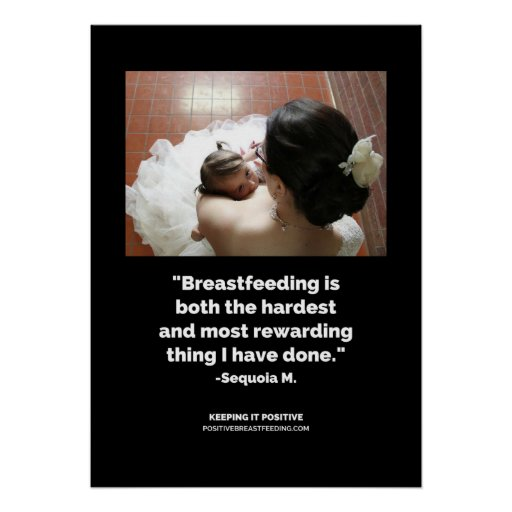 rewarding breastfeeding poster