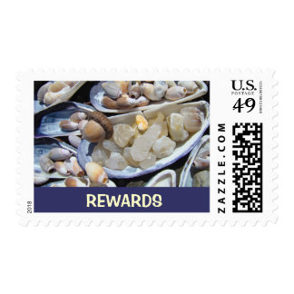 REWARDS postage stamps Agate Treasures