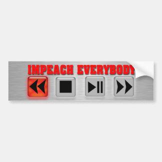 Rewind History Bumper Stickers