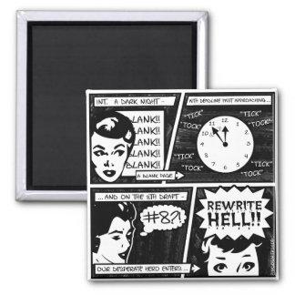 Rewrite Hell Comic Strip Magnets