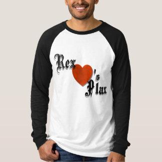 Rex ama la camiseta de Plax Remera