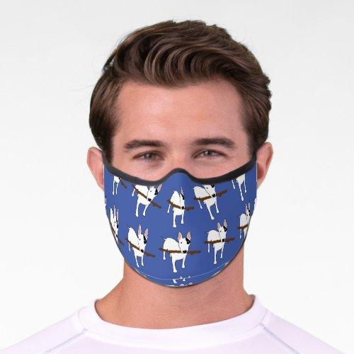 Rex and Stick premium mask in blue