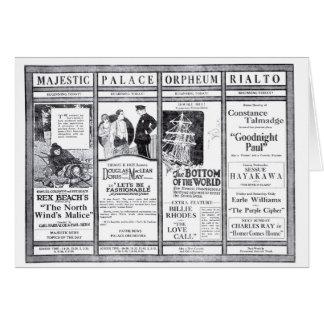 Rex Beach Doris May movie newspaper ads 1920 Cards