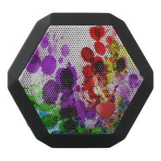REX de Boombot, negro - salpicadura del corazón Altavoces Bluetooth Negros Boombot REX