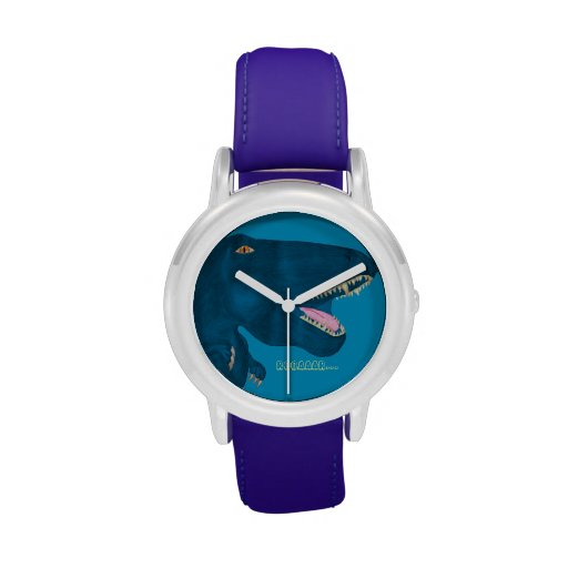 Rex de rugido relojes de pulsera