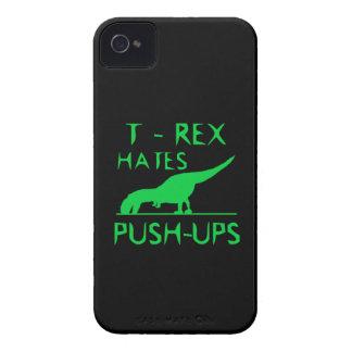 REX de T ODIA el diseño divertido de Dino de los iPhone 4 Carcasas
