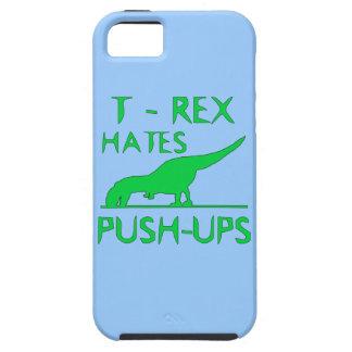 REX de T ODIA el diseño divertido de Dino de los iPhone 5 Carcasas