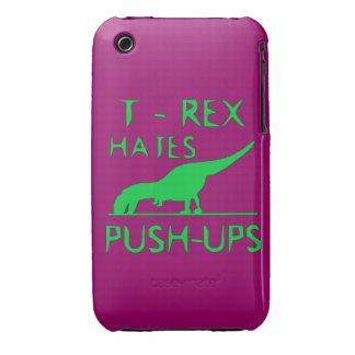 REX de T ODIA el diseño divertido de Dino de los P Case-Mate iPhone 3 Carcasas