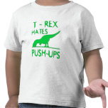 REX de T ODIA el diseño divertido de Dino de los P Camiseta