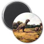rex del tyrannosaurus imanes para frigoríficos